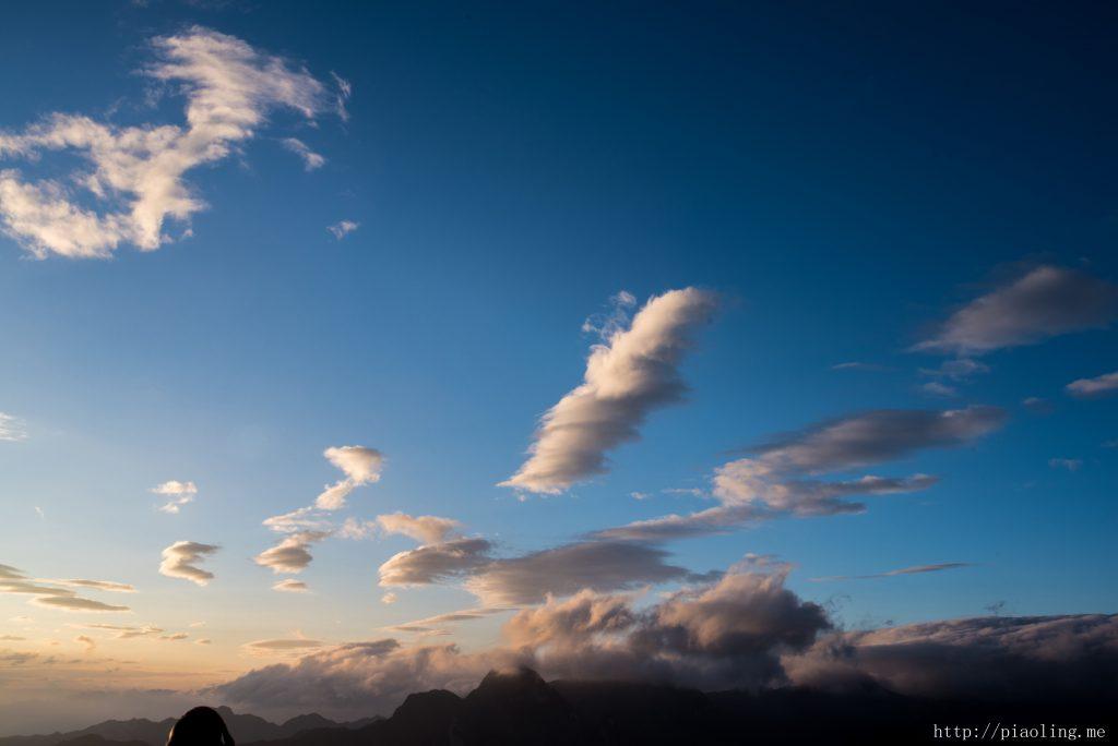华山看日出