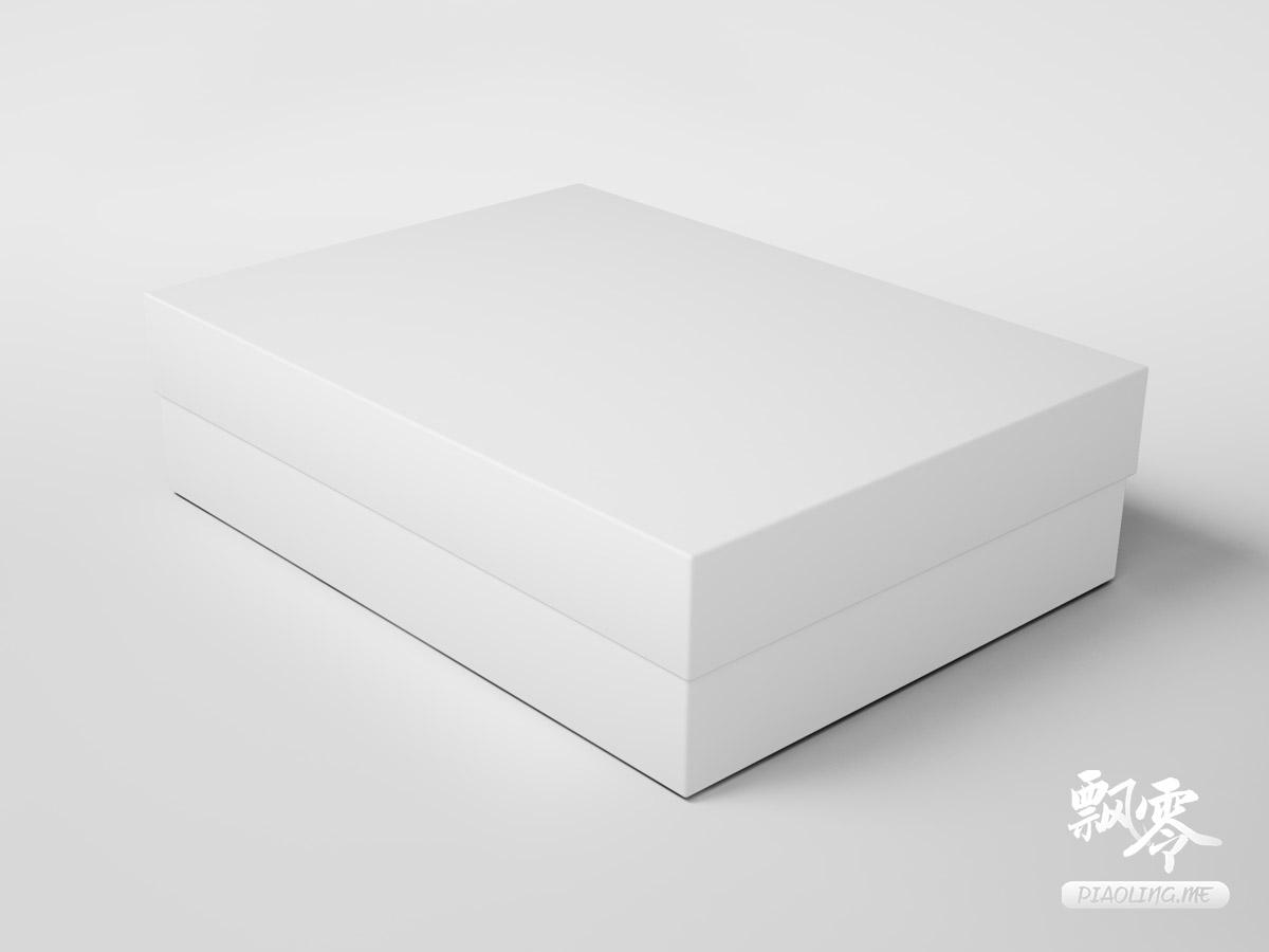 伴手礼、生日礼盒包装盒样机效果图免费psd下载